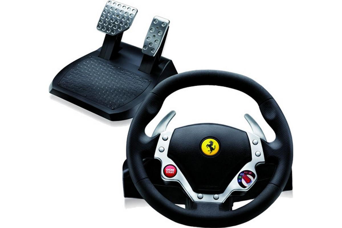 thrustmaster ferrari 430 racing wheel newconcept. Black Bedroom Furniture Sets. Home Design Ideas