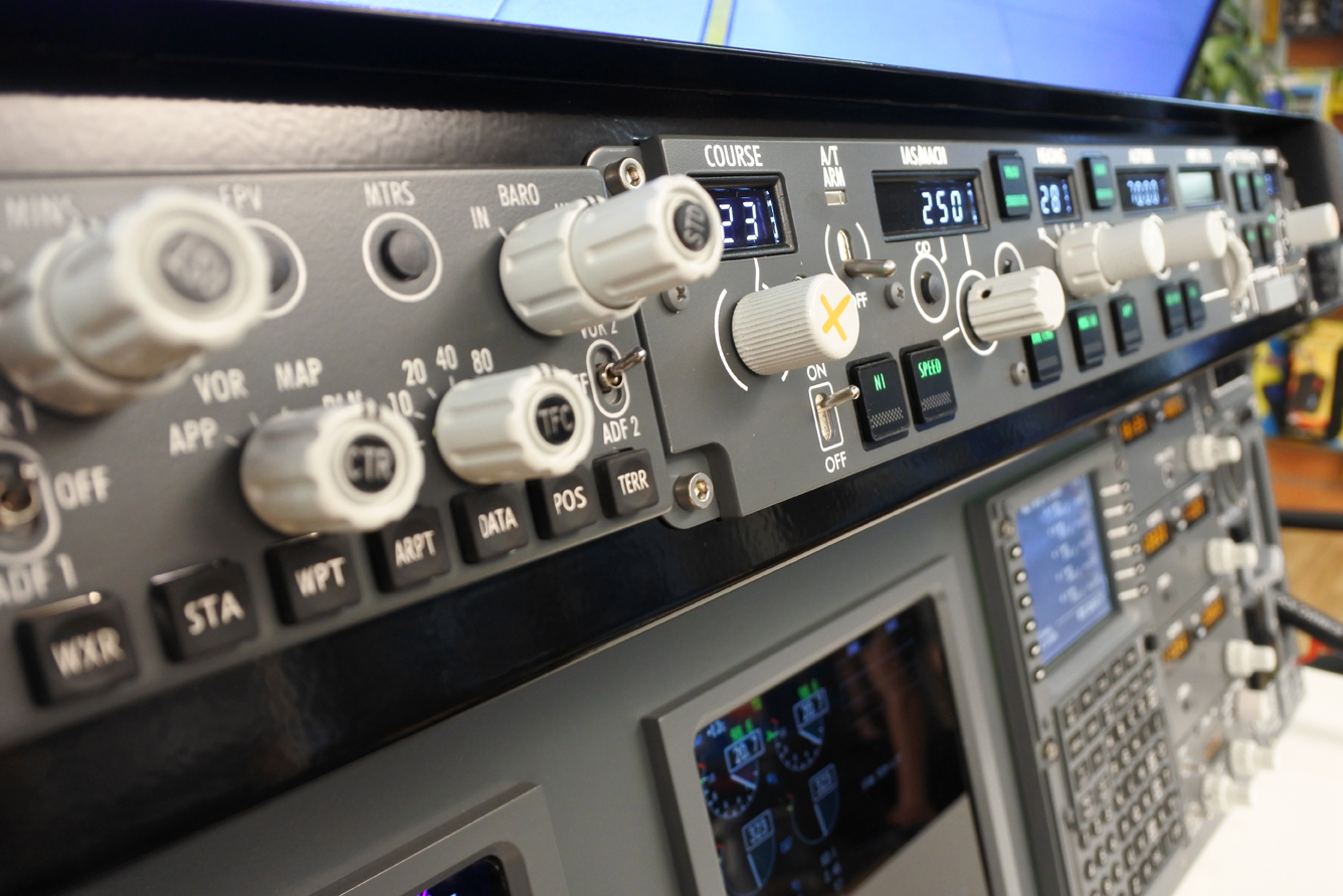 Panel 737 Desktop V2 without overhead / PMDG 737 NGX