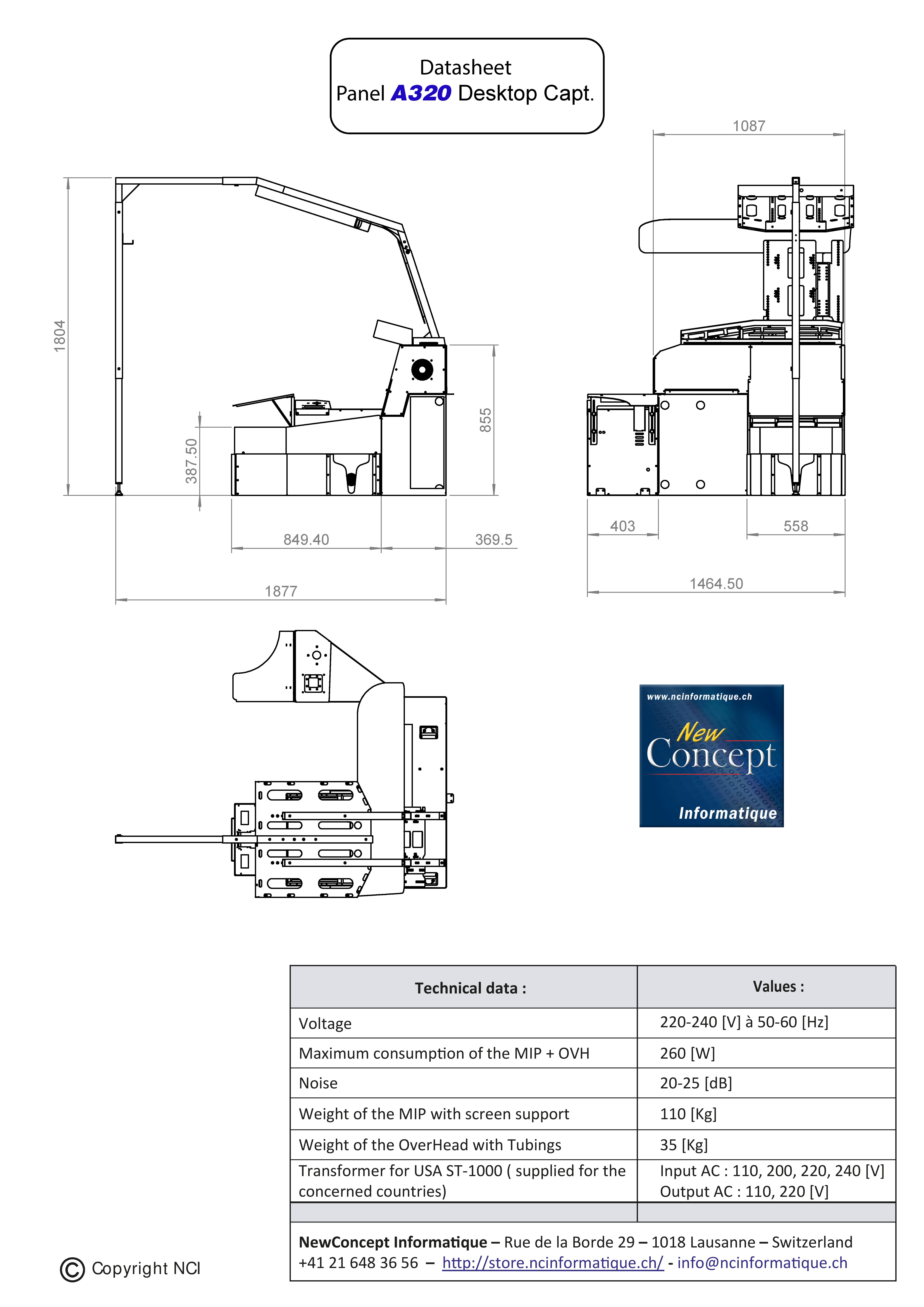 Pre order - Panel A320 Desktop Captain on